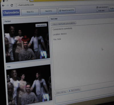 Chatroulette mit uns selbst